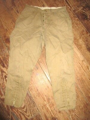 Vintage BSA Boy Scouts of America. Jodphurs Riding Pants Size 32