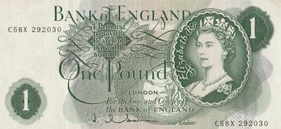 1962/65 Great Britian 1 Pound Note