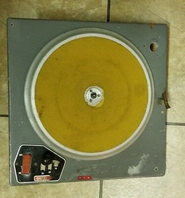 GATES RADIO - HARRIS Corp. CB 77 Vintage Transcrition Broadcast Turntable