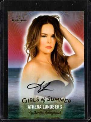 ATHENA LUNDBERG GIRLS OF SUMMER 2018 BENCHWARMER AUTO PREVIEW mc1