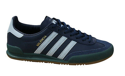ADIDAS ORIGINALS JEANS City Series Valencia Mens Lace Up Trainers Navy BB5274 M5