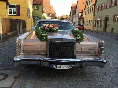 Lincoln continental Town car oldtimer