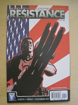 Resistance # 4. Based On The Playstation Video Game. Dc / Wildstorm. 2009