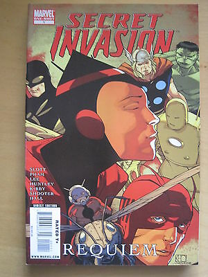 "SECRET INVASION : ""REQUIEM"". FAB G/S ONE-SHOT by SLOTT,PHAM,LEE,KIRBY etc.MARVEL"