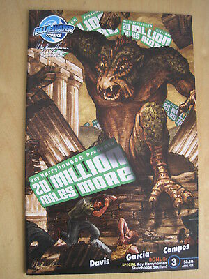 """RAY HARRYHAUSEN PRESENTS """"20 MILLION MILES MORE"""": # 3 of the 4 ISSUE 2007 SERIES"""