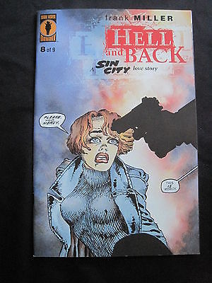 SIN CITY : HELL & BACK # 8 ( of 9 ) by FRANK MILLER. DH.1999