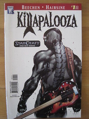 STAR CRAFT ( BASED ON THE VIDEO GAME ) PREVIEW in KILLAPALOOZA 1. WILDSTORM.2009