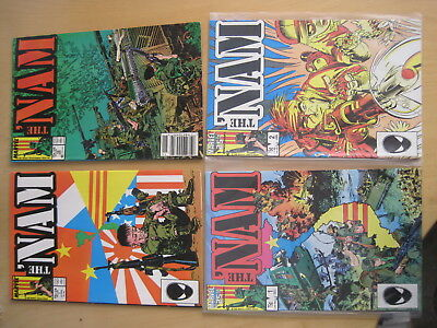 The 'NAM : issues 1,2,7,12 ( 4 in TOTAL ) of CLASSIC 1986 MARVEL SERIES