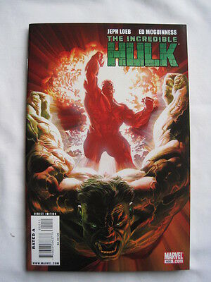 THE INCREDIBLE  HULK  600.   GIANT SIZE by  LOEB & McGUINNESS. MARVEL.2009