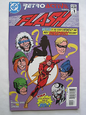 The FLASH 1 : RETROACTIVE - GREAT 2011 G/S ONE - SHOT :CAPTAIN COLD,TRICKSTER et