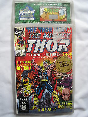 """THOR, """"THE ONCE & FUTURE THOR"""" : 6 issue story 438 - 443. LIMITD ED  SEALED PACK"""