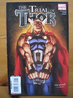 THOR : THE TRIAL OF THOR. ONE-SHOT by MILLIGAN & NORD .FANTASTIC ! MARVEL. 2009