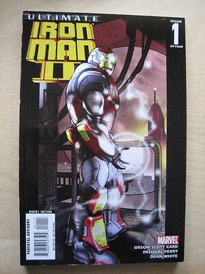 ULTIMATE IRON MAN  II  # 1.  By CARD & FERRY. MARVEL. 2008