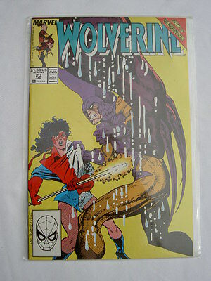 WOLVERINE   20 VFN - NM.  1st  Wolverine series from Marvel started in1991