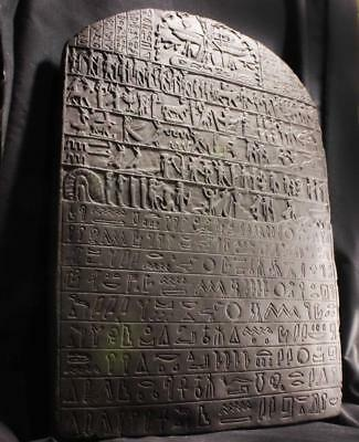 METTERNICH STELA  Egyptian Tablet of Magical Spells & Incantations 380 BC