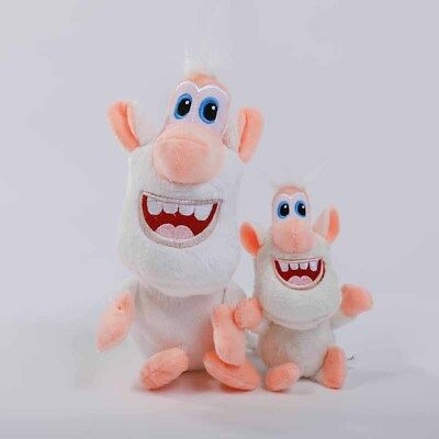 Anime Buba Booba Small Withe Pig Brownie Figure Plush Soft Stuffed Toys for Kid