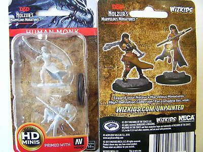 Dungeons & Dragons Nolzur's Marvelous - Unpainted Miniatures Human Female Monk