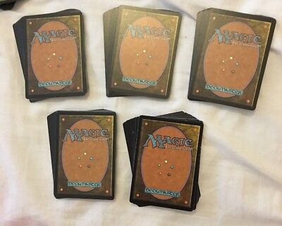 Bundle Of 100 Magic The Gathering Cards Job Lot Commons