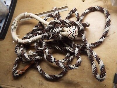 Vintage NATIVE AMERICAN INDIAN MADE OF  HORSEHAIR HEADSTALL