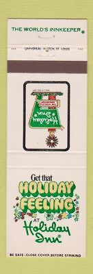 Matchbook Cover - Holiday Inn Collinsville IL