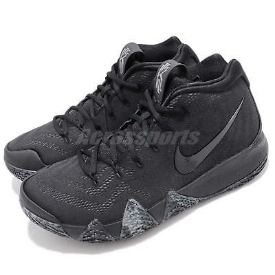 1c62cd19aa46 Nike Kyrie 4 EP Triple Black Blackout Irving Mens Basketball Shoes 943807- 008