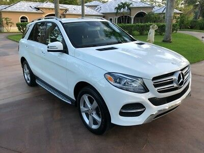 2016 GLE-Class GLE 350 2016 Mercedes-Benz GLE 350 Automatic 4-Door SUV