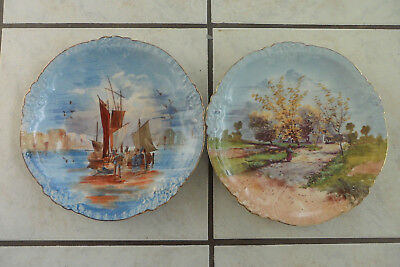 # Lot De 2 Assiettes Murales # Super Etat