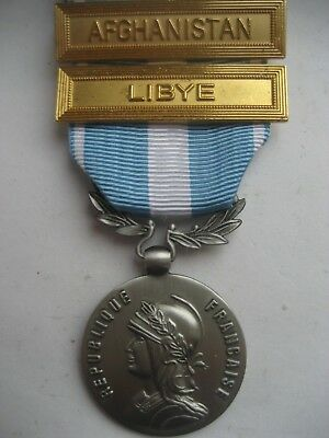 French Foreign Legion Outre- Mer.(Overseas Medal) With2 Bars.