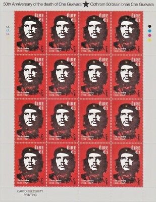 Ireland Eire.  300+ MNH Stamps. Full Sets. Che Guevara, Wildflowers, Birds etc.