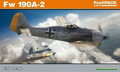 EDUARD 82146 WWII German Fw190A-2 in 1:48 ProfiPACK!
