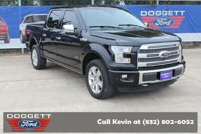 2016 F-150 Platinum 2016 Ford F-150 4x4, Shadow Black with 20,000 Miles available now!