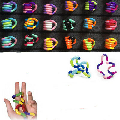 Tangle Jr Fiddle Fidget Stress ADHD Autism SEN Sensory Stop Smoking Toy Gifts