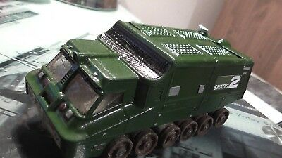 repainted Dinky 353 Shado 2 tank vehicle missile launcher diecast UFO display