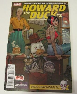 Howard The Duck #1 2015 1St Print First App Gwenpool Nm Marvel Comic
