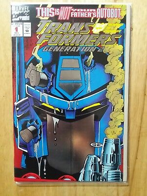 Transformers Generation 2 #1 - 1993 Gatefold Foil Cover  Near Mint