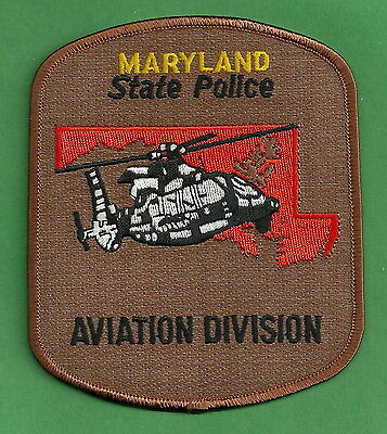 Maryland State Police Aviation Unit Patch