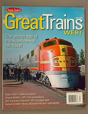 Great Trains WEST, Classic Trains Extra Edition, 2016; LN