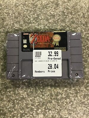 The Legend of Zelda  A Link to the Past Super Nintendo Entertainment System SNES
