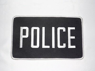 Vintage Collectible Police Back Patch 8.5 X 5.0