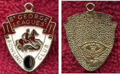 St. George Rugby Leagues Bowling Club Badge