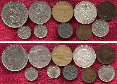 10 Coins from Netherlands
