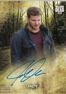The Walking Dead Road To Alexandria - Jeremy Palko (Andy) Autograph Card Ac-Jp