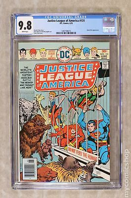 Justice League of America (1st Series) #131 1976 CGC 9.8 1497188015
