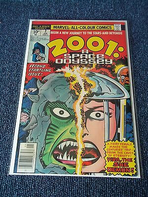 2001 A Space Odyssey #2, Jack Kirby C/A, 1976, VF/NM, See Others & Combine, $15