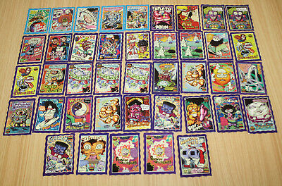 The Oddbodz Glo Collector Cards x41