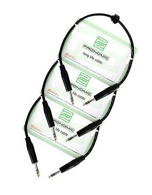 Professionelles Pronomic Stage INSTS-0,5 Klinkenkabel 0,5 m 3x SET