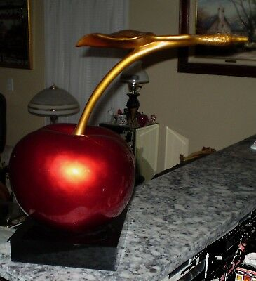 Giant Cherry Sculpture
