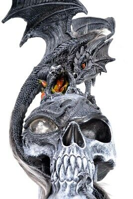 Hellbound Skull And Dragon