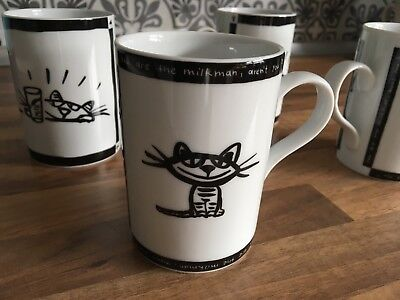 4 X Design House Kaffee Pott/ Becher Tasse * Have A Nice Day *