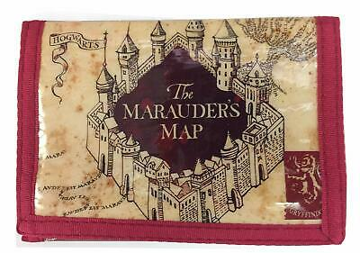 Harry Potter Wallet with Marauder's Map Design